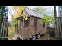 Deek Gives You Tour of Jay Shafer's First Tumbleweed Tiny House