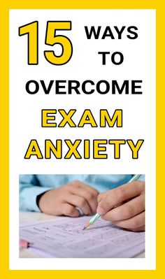 Here are some effective tips to overcome Exam Anxiety. By following these tips you will be able to avoid nervousness and concentrate on exam.