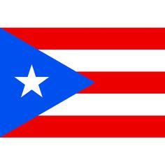Tafelvlaggen Puerto Rico 10x15cm   Puerto Ricaanse tafelvlag De vlag van Puerto Rico is in 1885 ontworpen en heeft in 1952 een officiële status gekregen. De gelijkenis met de vlag van Cuba is zeker geen toeval, aangezien de vlag werd ontworpen rond dezelfde tijd door mensen met eenzelfde doelstelling, namelijk aansluiting bij de Verenigde Staten
