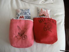 POTAHILACHAS Burlap, Reusable Tote Bags, Hessian Fabric, Jute, Canvas