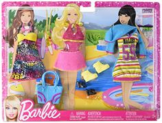Fashion Doll: Barbie Fashion Pack  Malibu Beach Time 2012 -- Read more reviews of the product by visiting the link on the image.