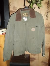NICE!HUNTER GREEN/KHAKI,AUTHENTIC MICKEY MOUSE COAT!NWOT,SZ.M/L,FS!