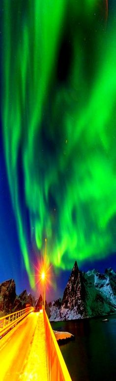 Northern Lights - Lofoten Island, Norway.