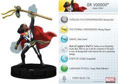 Dr. Voodoo #017a Amazing Spider-Man Marvel Heroclix - Marvel: Amazing Spider-Man - Heroclix