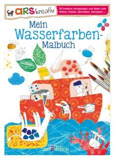 Mein Wasserfarben-Malbuch