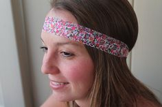 Floral lacey stretch headband lace flower by tayleredforyou, $9.99