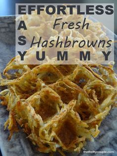 How To Make Perfectly Cooked Hash Browns Effortlessly (From Frozen or Fresh Potatoes)