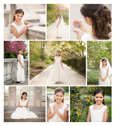 first communion pictures idea First Communion Party, First Holy Communion, Baptism Pictures, Holy Communion Dresses, Photographing Kids, Photo Poses, Isabelle, Girl Photos, Photography Poses