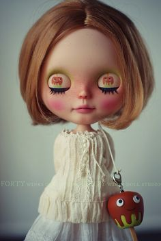 An Apple A Day by Forty Winks Doll Studio, via Flickr