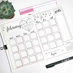 Check out all these amazing valentines themed bullet journal ideas - monthly log by @dot.daze Bullet Journal Spread, Dotted Bullet Journal, February Bullet Journal, Bullet Journal Banner, Bullet Journal Ideen, Bullet Journal Layout, Book Journal, Bullet Journal Inspiration, Journal Themes