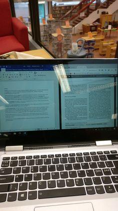 Jopa kerran tein kirjastossa tehtäviä