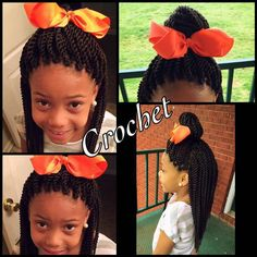 Crochet Braids For Little Kids Pictures crochet braids hairstyles for kids find your perfect hair Crochet Braids For Little Kids. Here is Crochet Braids For Little Kids Pictures for you. Crochet Braids For Little Kids crochet braids for kids find y. Crochet Braids Hairstyles For Kids, Crochet Braids For Kids, Lil Girl Hairstyles, Old Hairstyles, Kids Braided Hairstyles, African Braids Hairstyles, My Hairstyle, Crochet Hair Styles, Girl Haircuts