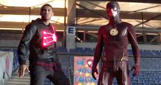 'Flash' Trailer Reveals New Firestorm; Where's Robbie Amell? -- A new trailer for Season 2 of 'The Flash' shows Barry Allen alongside the new Firestorm, offering a tease for 'Legends of Tomorrow'. -- http://tvweb.com/news/flash-season-2-trailer-new-firestorm-robbie-amell/