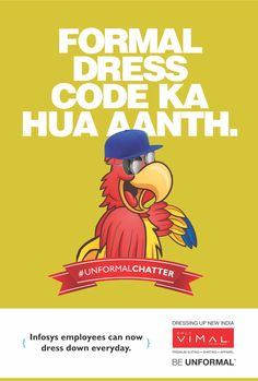 By doing away with the formal dress code, Infosys' CEO Vishal Sikka makes an unformal start. #UnformalChatter