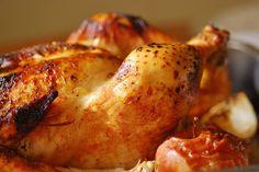 Pollo al horno con manzanas. | Cuchillito y Tenedor