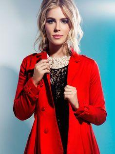 Emily Bett Rickards for Runway Magazine. She looks amazingg
