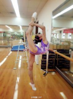Lv Jiaqi, Chinese National Team splits backbend contortion