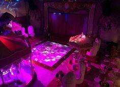 Salão principal e palco Da Festa de 15 Anos Da Larissa Manoela! #SonhosDeLari
