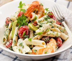 Delicious recipes with yogurt Salad Bar, Cobb Salad, Salad Recipes, Healthy Recipes, Weight Watchers Meals, Summer Salads, Pasta Salad, Food Inspiration, Risotto
