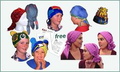 Free pattern for Chemo Hats for charity.