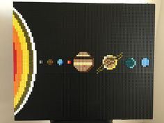 Lego Mosaic Solar System in Crafts, Handcrafted & Finished Pieces, Mosaic/Stained Glass/Glass Art | eBay