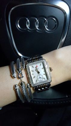 david yurman and michele deco watch