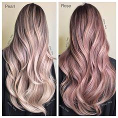 Guy Tang sur Instagram : Pearl or Rose? HairBesties!