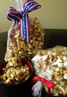 Vanilla Bean Girls - homemade caramel popcorn