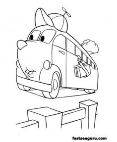 Cool Coloring The Little Engine That Could Coloring Pages at ...