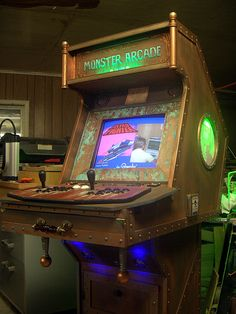 Awesome custom arcade cabinet