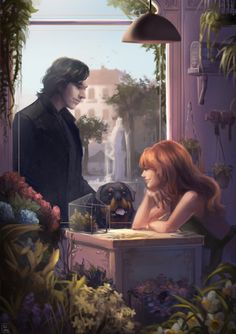 Hades and Persephone...Ili Isa tumblr