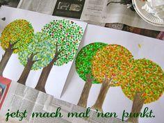 wattestäbchen-bäume:
