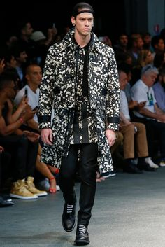 Givenchy Spring 2015 Menswear Fashion Show