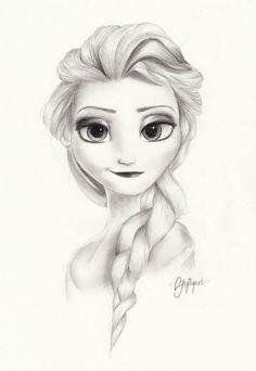 elsa deviantart | Elsa frozen by Skylilyart