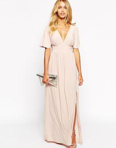 Image 4 ofLove Kimono Sleeve Maxi Dress