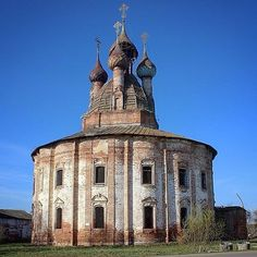 Church of the Kazan Icon of the Mother of God, Kurba village, Yaroslavl Region, Russia.