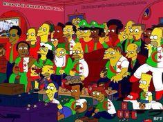 Les Simpsons à fond derrière l'Algérie (Insolite) - http://www.actusports.fr/107804/les-simpsons-fond-derriere-lalgerie-insolite/