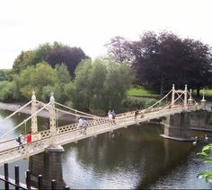 Victoria footbridge, Hereford Hereford, Continents, Wonderful Places, Victoria, Country, City, Beautiful, Rural Area, Cities