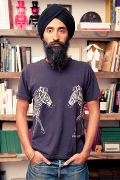 Waris Ahluwalia's Downtown Studio Photos - See More Fashion Designer Homes - ELLE