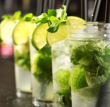 Such a great drink to refresh yourself, even in a Virgin-Version - Mojito!!