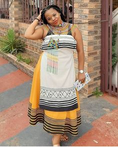 If you're looking for the trendiest, beautiful and latest 2020 STUNNING XHOSA ATTIRE styles then you're in for a treat. We have found the trending South africa styles African Print Dresses, African Print Fashion, Africa Fashion, African Dress, African Prints, African Traditional Wear, Traditional Fashion, Traditional Outfits, Xhosa Attire