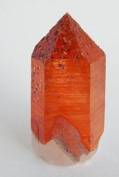 水晶語り オレンジリバー産のオレンジ水晶