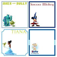 Disney Custom Autograph Books