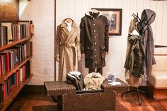 'TIS THE SEASON   Check out last week's Vaute pop-up store in our lobby. Guests and locals stopped in and could purchase from the new collection, and donate their old coats as well. #StayWarm Greenwich London, Lower Manhattan, Wardrobe Rack, Table Settings, Interior Design, Luxury, Store, Coats, Inspiration