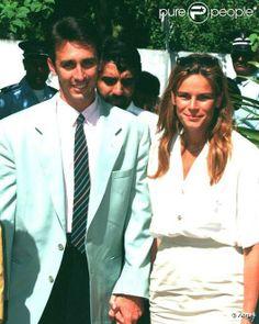 Stephanie and Daniel Ducruet, her 1st husband