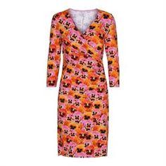 2ff8b08df7f2 Blomstret og farverig retro kjole fra Dazzle Me