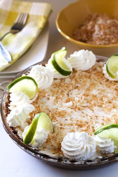 Key Lime Pie is simply THE pie of summer! This recipe has an amazing coconut graham cracker crust, a creamy lime interior, and a perfectly…