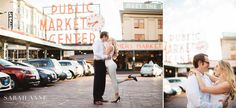 Engagement Session in Pike Place Market, Seattle