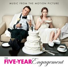 """""""The Five-Year Engagement"""" movie soundtrack, 2012."""