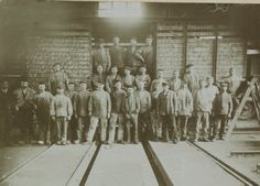 Wagenwerkplaats Groepsfoto